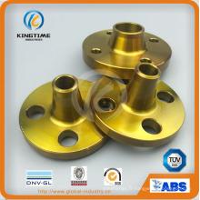 Bride forgée de bride d'acier au carbone d'ASME B16.5 Wn avec ce (KT0407)