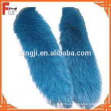 De calidad superior Real Fox piel recorte