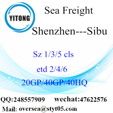 Shenzhen Port Sea Freight Shipping Para Sibu