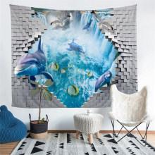 Using 3D Printing Tech, Marine Life Pattern Tapestry