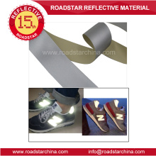 Fashion material high silver reflective PVC foam leather