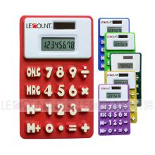 13cm 8 Digits Dual Power Silicon Calculadora con Megnet (LC511A)