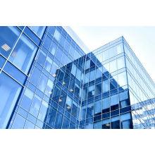 Бескаркасные изотермические стекла Ненесущей стены для здания