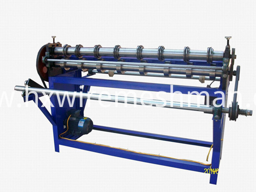 wire mesh slitting machine