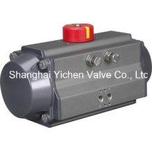 Atuador pneumático de dupla ação de alumínio (YCATD)
