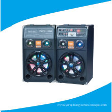 Double 10inch PA Party Speaker Including Remote Colorful Light 630A