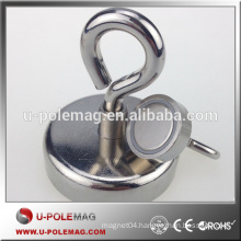 High Performance D75mm Super Strong Holder Magnet with Hook