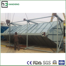 Side-Spraying Plus Bag-House Dust Collector-Induction Furnace Air Flow Treatment