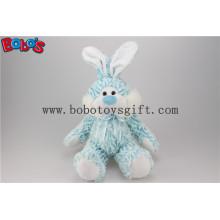 "10 ""Blue Stuffed Kaninchen Tier Spielzeug mit Blue Ribbonbos1142"