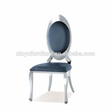 Stainless steel velvet wedding chair XYN2805