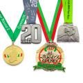 Медаль в спортивном марафоне с индивидуальным логотипом