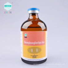 Inyección de Shuanghuanglian, calor y desintoxicación, descompresión hidrófoba