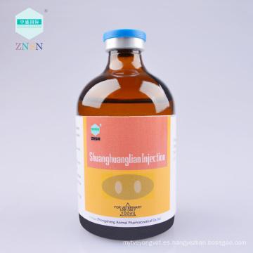Entrega rápida Eficiente inyección Shuanghuanglian