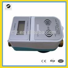 Medidor de controle pré-pago RFID de 3.6V para água quente e água fria com cartão IC