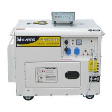 2-5kw poder silencioso gerador diesel conjunto (DG6500SE novo tipo)