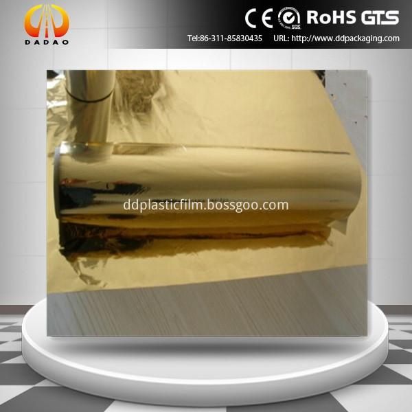 pet golden metallized film(44)