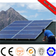 Petit système d'alimentation solaire portatif à la maison avec la lumière, charge, batterie de panneau solaire