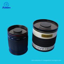 Lentille miroir F8 500mm