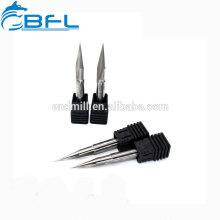 BFL CNC-Hartmetall-Flachform-V-Gravierfräser