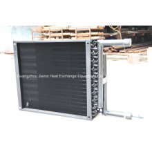 Intercambiador de calor refrigerado por aire para condensación / evaporación