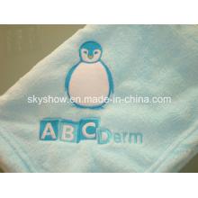 Very Soft Heathy Comfortable Coral Fleece Baby Blanket (SSB0131)