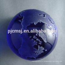 кристаллическая модель глобус ,хрустальный шар,кристалл буле мира