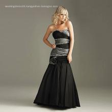Fashion Black Wedding Dress