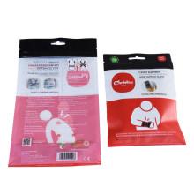 Bolsas cosméticas biodegradables duraderas para el cuidado del cuerpo con cierre de cremallera