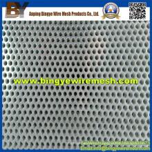 Métal perforé en acier inoxydable utilisé dans