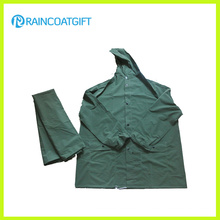 Waterproof 2PCS Rainsuit Rain Jacket and Pants