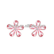 China Supplier jewelry wholesale Fashion Austrian crystal earrings direct buy china