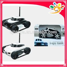 Der APP-kontrollierte Wireless Spy Tank i-SPY Tank Wifi mit Spion Kamera 4-CH gesteuert von iPhone / iPad / iPod