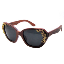 Wooden Fashion Sunglasses (SZ5820-1)