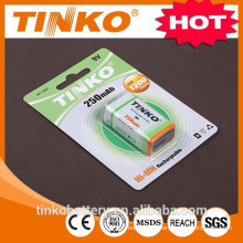 Industrial rechargeable Ni-mh battery 9V