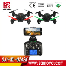 WLtoys Q242 - K WIFI FPV 4 Channel 6 axis Gyro 2.4GHz RC Quadcopter with 2.0MP HD Camera SJY-Q242K