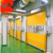 Schnelle industrielle PVC-Tür