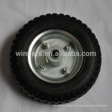 2.50-4 pneu de roue de roue de roue en caoutchouc plein