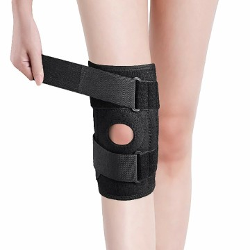 Bantalan Lutut Bernapas Sport Safety Basketball Knee Brace