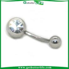 Superestrella desechables ombligo anillo Piercing anillo Naval del vientre