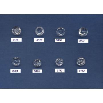 Novo projeto forma redonda botões de cristal atacado