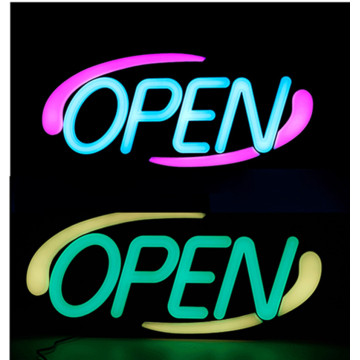 20 '' RGB LED Open Sign Sign Signs