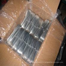 Fil en fer galvanisé à chaud et fil en métal galvanisé