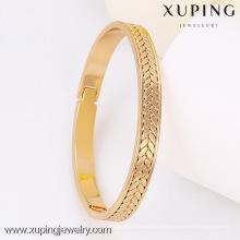 51256-Brazalete fino de la joyería de Xuping para los regalos de las mujeres con el oro 18K plateado