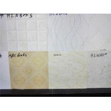 Precio bajo y buena calidad Azulejo de cerámica decorativa pulida de la pared