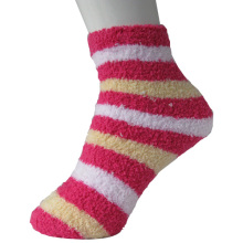 Stripe Floor Socks für Lady