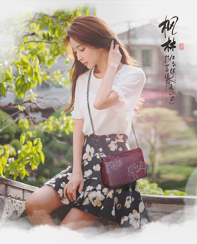Ladies PU Leather Shoulder Bag