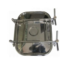 SUS304 Stainless Steel Square Rectangle Manhole Cover