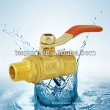 191-TM Brass lead free Mini Ball Valves suitable for the water and air
