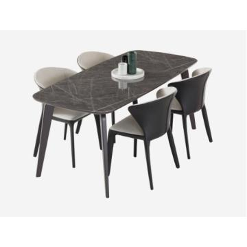 Table rectangulaire luxueuse dinant des meubles