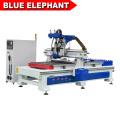 BLAUE ELEFANT NEUE Produktionslinie CNC Router Holzbearbeitung Automatische Laden und Entladen Verschachtelungsmaschine